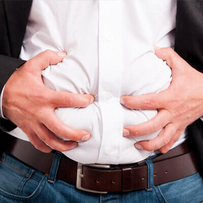 Duomix dapat membantu merawat kembung perut